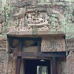 Carving at Prea Khan