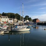 Across Padstow Harbour including The Shipwrights.