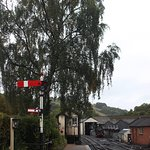 Early morning at Llanfair Station