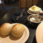 warm rolls