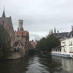 Charming little corner in Bruges.