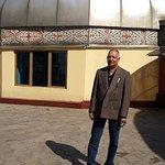 Traditional Kazak home
