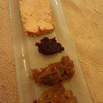 foie gras avec un extrordinaire gelée au cavados