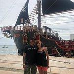 Pirate Show Cancun Jolly Roger照片