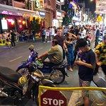 ภาพถ่ายของ Pham Ngu Lao Street