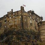 Edinburgh Castle, built on Castle Rock, the plug of an extinct volcano!