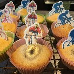 Cup Cakes for the Tour of Britain 2018 who passed through Lowick