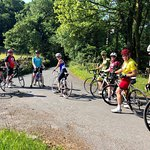 Out for a guided group ride round the Lake District National park