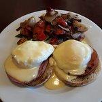 Eggs Benedict with Potatoes