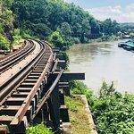 Partial view of Tham Krasae Bridge