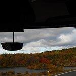 Beautiful fall colors at lake Myvatn