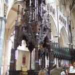 Ornate Bishop's Chair
