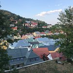 Roofs of Banská Štiavnica.