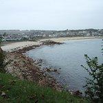 Porthcressa Beach from Garrison Walk