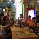 Lovely evening with Chinese tourists is at Victor Restaurant