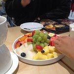 фондю:сезонные фрукты