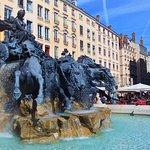 fontaine Bartholdi, Lyon