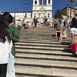 Bild från Spanish Steps