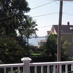 View of Salem Harbor from our deck.
