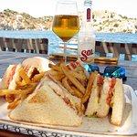 Club Sandwich at Petalo