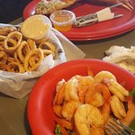 Crab Legs, Calamari, and Peel and Eat Shrimp
