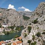 Foto van Omis and Cetina River