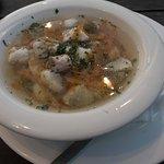 Klare Ueckermünder Fischsuppe