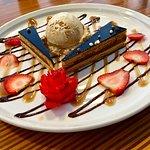 Opera Cake & Ice Cream........too good!