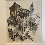 Foto de Escher en un Palacio