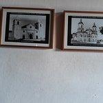Foto antiga da Igreja ao atual formato.