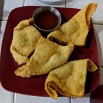 Strawberry Rangoons
