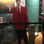 Fenway Park Turnstile, Usher's Uniform, and a piece of the Original Green Monster