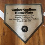 Last Home Plate of Old Yankee Stadium