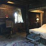 Henry VIII's bedroom when visiting Hever Castle