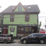 The former Geldert Dry Goods Store and Spinnaker Inn, now the Salt Shaker Deli and Inn