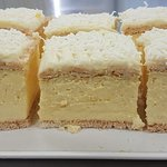 Our FAMOUS continental custard squares, available all day