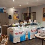 Our new Milkshake/ icecream area