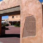 History Plaque at San Felipe de Neri Church