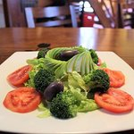 Tulipans House Salad, healthy food is always available for you.