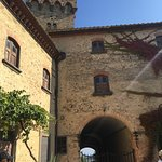 Castle for wine and olive oil tasting