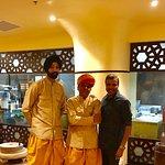 With Karandeep Singh and Bhal Singh