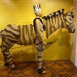 Zebra costume from Lion King Show