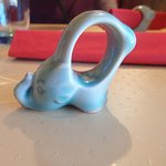 I love their napkin ring elephants! I hear they are from Thailand.