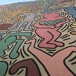 Photo of Murale Tuttomondo di Keith Haring