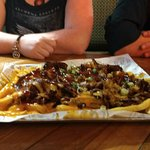 Loaded fries with chilli or brisket