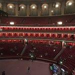 Pre-gig Albert Hall