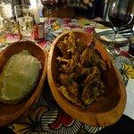 Chicken Oshiwambo mit Milipap
