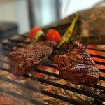 Charcoal-grilled Sirloin Steak