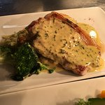 Pork Loin Steak, Tarragon sauce