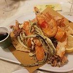 Fritto di mare con verdure - miam, miam, excellent!